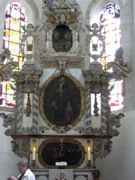 Cathédrale de Merseburg :  maître autel