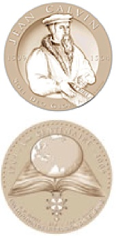 médaille comémorative de Calvin