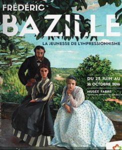 Affiche de l'exposition Frederic Bazille