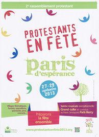 affiche de la 2ème édition de Protestants en fête