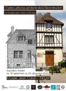 Affiche du musee Jean Calvin