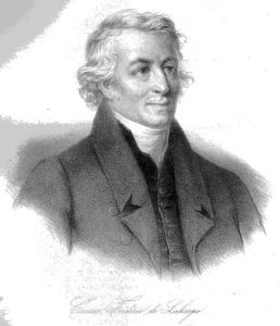 Gravure de Frédéric-César de La Harpe.