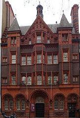 Photographie de l'église protestante française de Londres