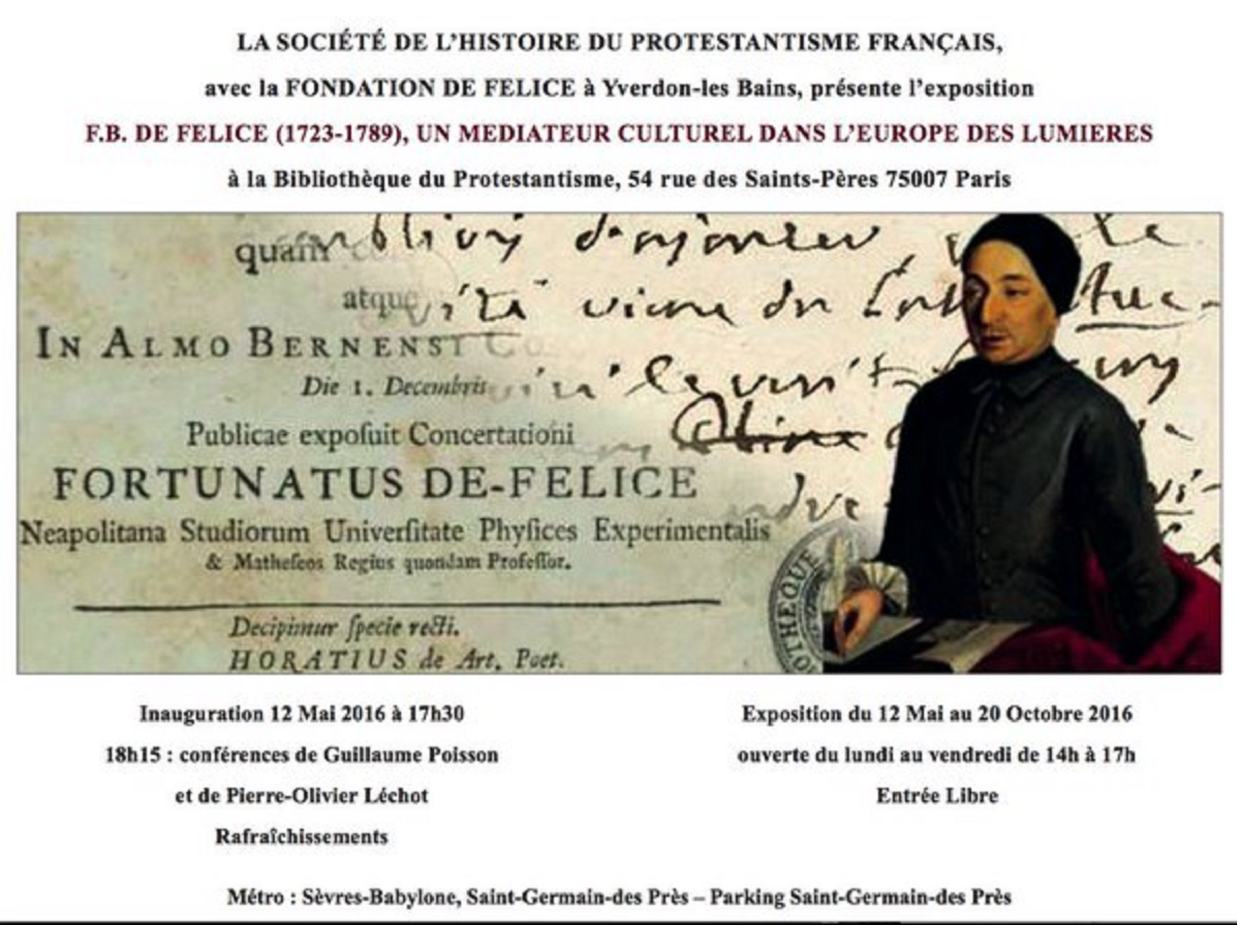 Exposition Fortunato de Felice
