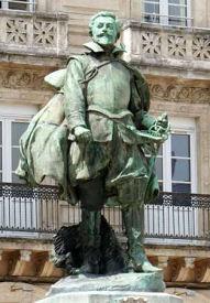 statue de Jean Guiton par Ernest Dubois, à La Rochelle