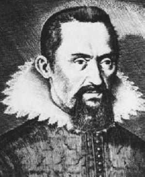 Gravure de Johannes Kepler