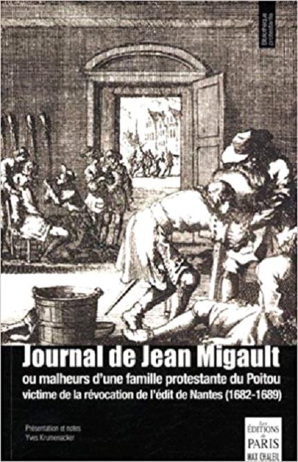 première de couverture du Journal de Jean Migault