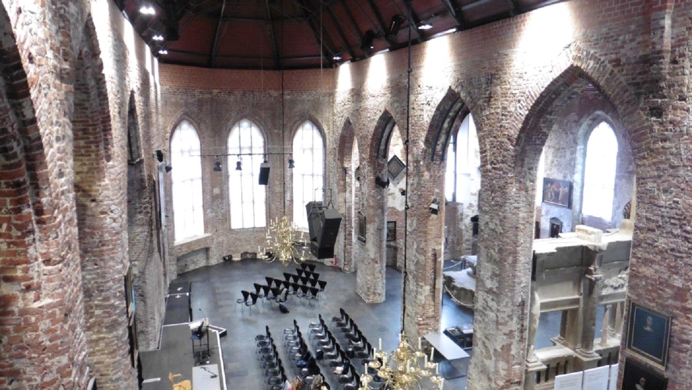 La Grande Eglise intérieur