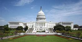 Vue du Capitole aux USA