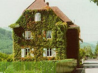 Photo de la maison de Schweitzer à Gunsbach