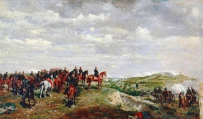 Tableau de Meissonnier, Napoléon III à Solférino