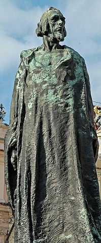 monument Jean Huss à Prague