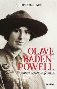 Iière d ecouverturedu livre de Ph. Maxence avec le portrait de Olave Baden Powell