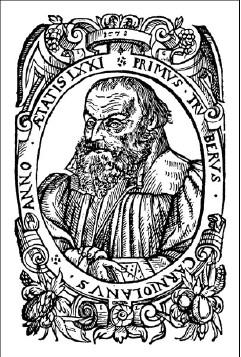 gravure représentant Primus Truber