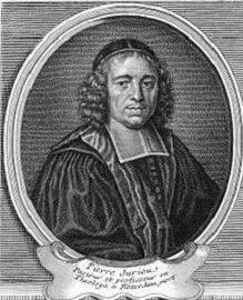 gravure de Pierre Jurieu