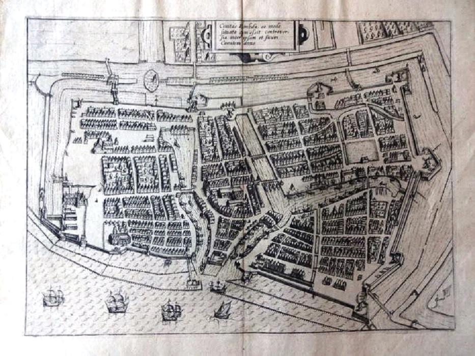 Plan cavalier de Emden