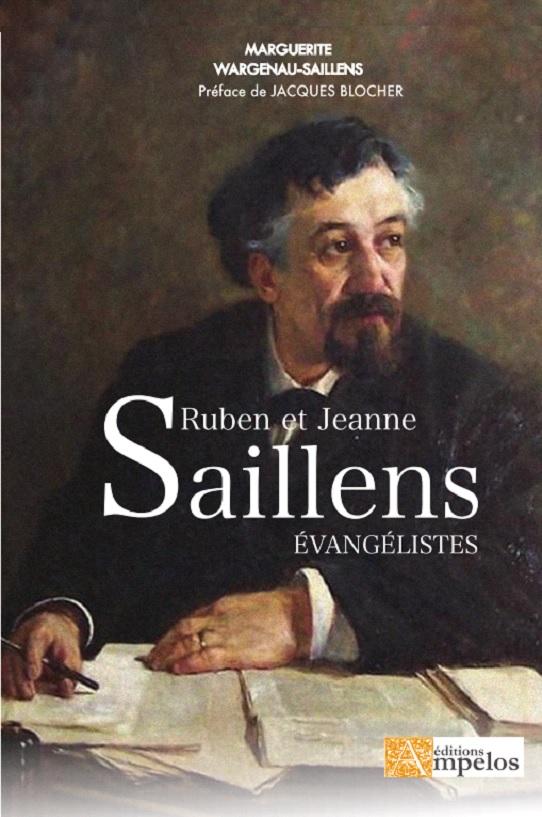 1ere de couverture de l'ouvrage Ruben et Jeanne Saillans