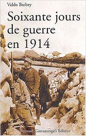 Iere de couverture de Soixante jours de querre en 1914