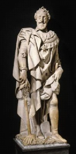 Photo d'une statue d'Henri IV