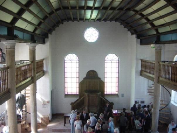 Vue intérieure du Temple de Lemé