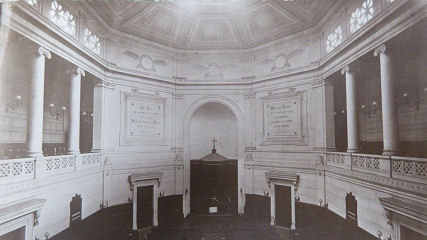 Photo de l'intérieur du temple,
