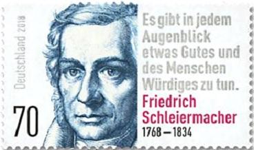Portrait de F Schleiermacher