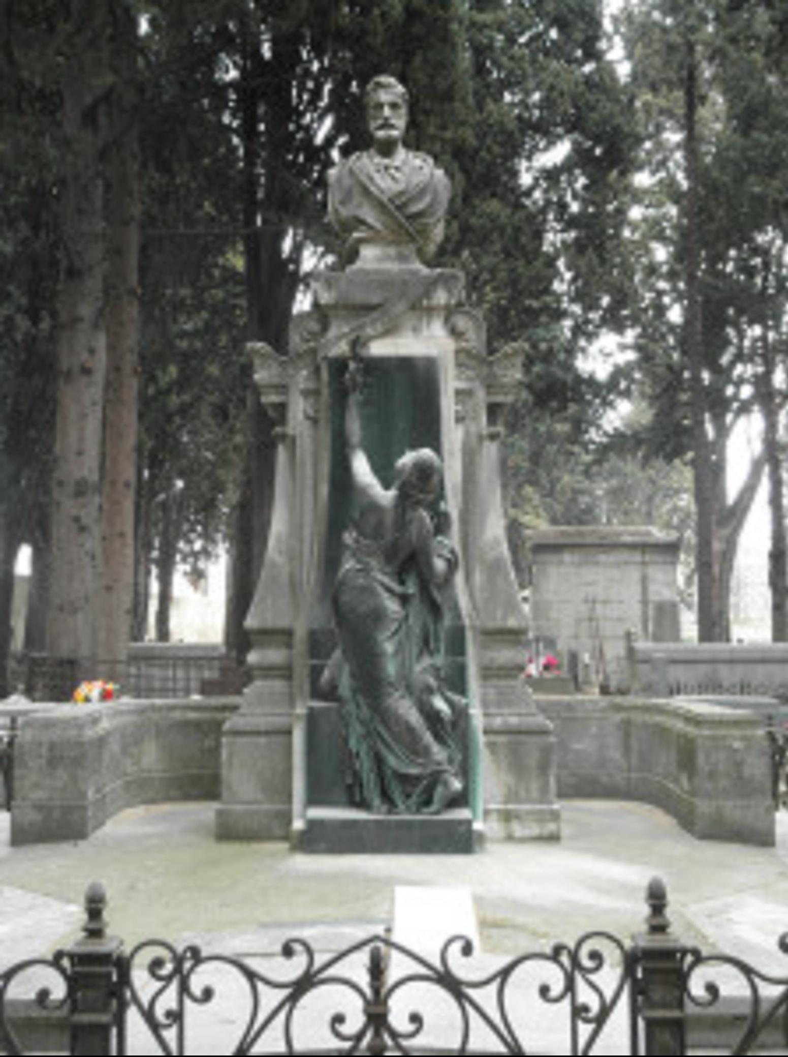 Tombe de Frederic Bazille
