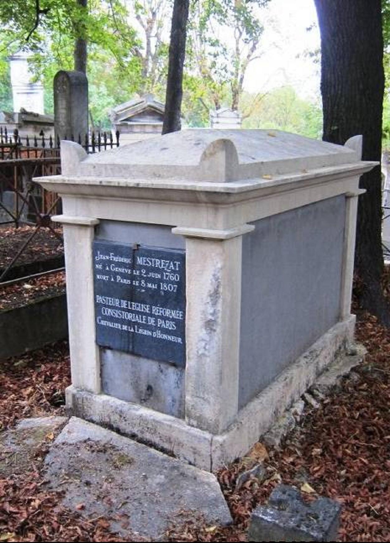 Tombe du pasteur Mestrezat