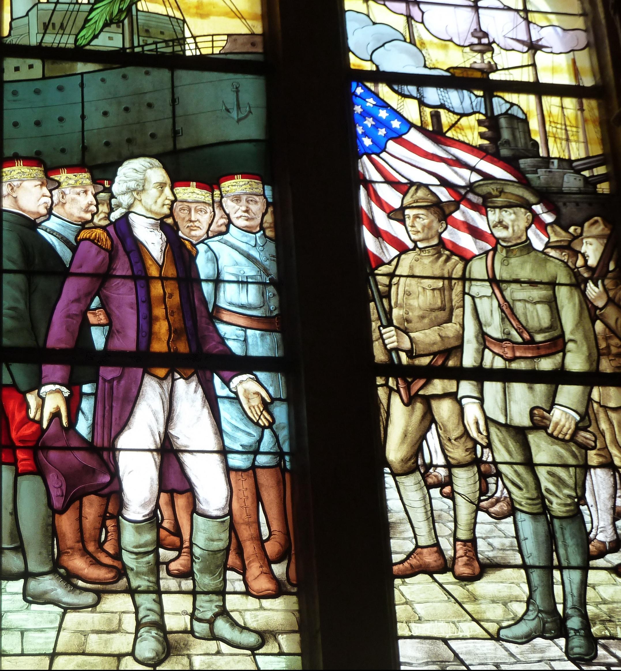 'église américaine de Chateau-Thierry