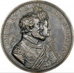 Médaille de Henri IV et Marie de Médicis