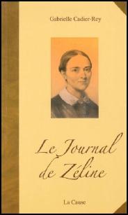 """couverture du livre """"le journal de Zeline"""""""