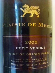étiquette de bouteille de vin