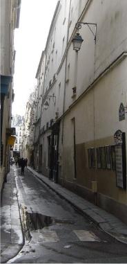 La rue Visconti aujourd'hui